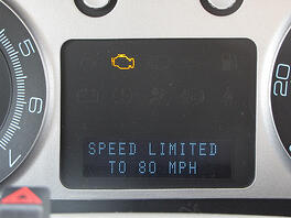 speed limitations with Ford MyKey